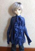 MSD用ガーゼワンピ(藍)